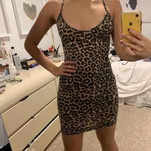 PrettyLittleThing Dresses - Pretty little thing Cheetah dress